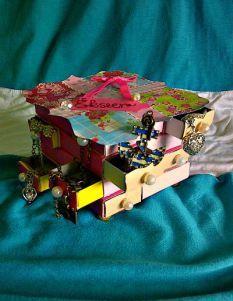 Ékszeres dobozka Scrapbook, Blog, Diy, Paper Board, Bricolage, Scrapbooking, Blogging, Do It Yourself, Homemade
