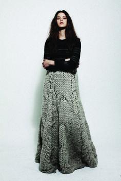 jessica o'connor #fashion #knitwear #ombre