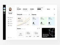 Web Dashboard, Dashboard Design, Tablet Ui, Flat Web Design, Chart Design, Mobile App Design, Ui Inspiration, User Interface Design, Finance