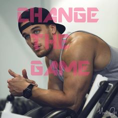 Change the Game. Fitness Motivation by Marc Fitt