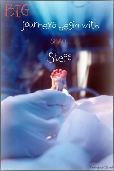 One tiny step at a time More
