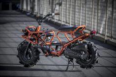 Scooter Motorcycle, Moto Bike, Motorcycle Design, Motorcycle Style, Bicycle Design, Concept Motorcycles, Custom Motorcycles, Custom Bikes, Mini Motorbike