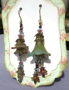 Victorian Drops by 9dogsandakat on Etsy