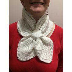 Winter White Loop Scarf/Neckwarmer, Hand Knit, Teen Adult, Unisex,... ($15) ❤ liked on Polyvore featuring accessories, scarves, loop scarf, infinity loop scarves, hand knitted shawl, circle scarf and circle scarves