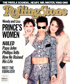Prince with Wendy & Lisa / Rolling Stone (1986)