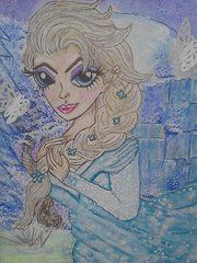 Terri Allbright - Elsa Frozen In Time