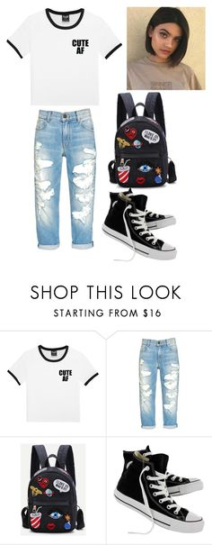 """trixie prendergast (check description box)"" by jeonayla on Polyvore featuring Converse"