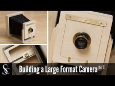 Shapeoko 3: Building a Large Format Camera (For Wet Plate Photography)