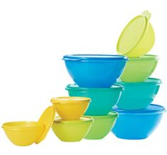 Tupperware | Wonderlier(r) Bowl 10-Pc. Set