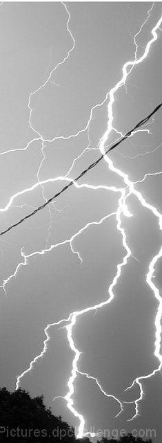 Lightning, Glen Eyrie Conference Center