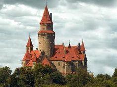 Bouzov castle , Czech republic