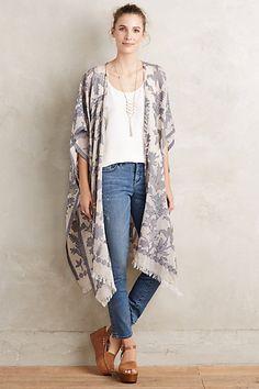 Anthophilous Kimono #anthropologie