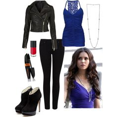 """""""katherine pierce outfit"""" by beautybitch on Polyvore"""