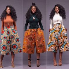 Lots and lots of Culottes  Available at www.zuvaa.com