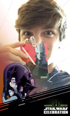 "Photos: Jake Short Spent Time At The ""Star Wars"" Celebration April 16, 2015 - Dis411"