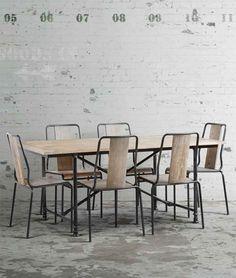 Renoir Table & 6 Renoir Chairs