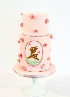 1st Birthday Cake for Helen | Alma Pasteles