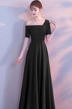 Cute Dresses For Party, A Line Prom Dresses, Trendy Dresses, Nice Dresses, Casual Dresses, Fashion Dresses, Bridesmaid Dresses, Dress Party, Fashion Clothes