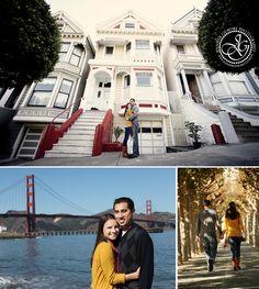 San Francisco bay bridge golden gate engagement photography ideas, destination photographer, CA, Gilmore Studios