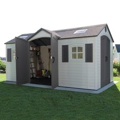 LIFETIME 60079 Outdoor Storage Dual Entry Shed -- Click image to review more details.-It is an affiliate link to Amazon.