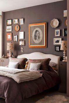 cuadros en la pared, me gusta la decoración, pero no los colores elegidos.!