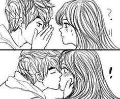 Resultado de imagen para bocetos anime de parejas