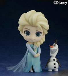 Elsa and Olaf young