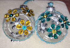 Daisy ornaments  Feb. 8, 2014