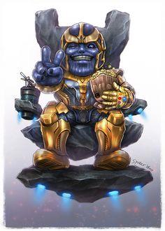 The most wanted villain of Marvel. Marvel Cartoons, Marvel Comics Superheroes, Marvel Villains, Marvel Films, Marvel Heroes, Marvel Characters, Thanos Marvel, Marvel Art, Spiderman Cosplay