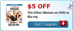 Movie Night Anyone? (Jungle Master DVD or The Other Woman DVD or Blu-Ray Printable Coupons)