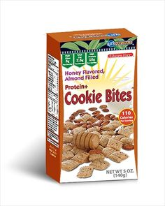 http://carbessentials.myshopify.com/products/kay-cookie-bites Same great Cookie Bites only better...by the Box. Available in Cinnamon Almond and Honey Almond.