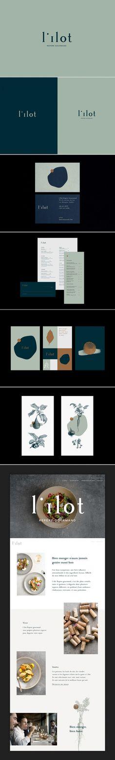Lîlot repère gourmand restaurant branding by Imédia Creative Firm | Fivestar Branding Agency – Design and Branding Agency & Curated Inspiration Gallery #restaurants #branding #design #menudesign #identity #webdesign #behance #pinterest #dribbble #fivestarbranding