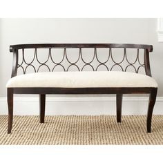 Safavieh Furniture AMH4114A Norma Bench at Lowe's Canada