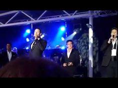 IL DIVO -  Åland, Finland - 01.08.2015 - Urs speaking & Senza Catene