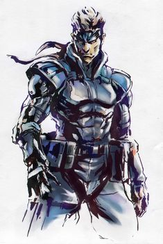 metal gear venom snake - Google Search
