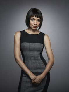 tamara taylor on bones - she always has the most perfectly tailored dresses!