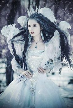 ❄A MidWinter's Night's Dream❄ Snow Queen...By Artist Unknown...