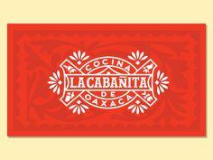 La Cabañita Logo by Abraham Lule - Dribbble Logo Restaurant, Mexican Restaurant Design, Mexican Graphic Design, Mexican Designs, Logo Design Trends, Logo Design Inspiration, Identity Design, Brand Identity, Logo Mexicano