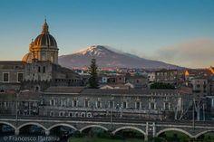 #Catania. Palazzo Biscari ed #Etna