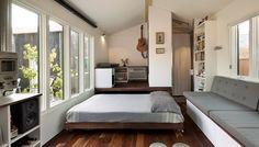 lit mini maison