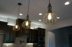 Custom kitchen lighting #mcbeehomes