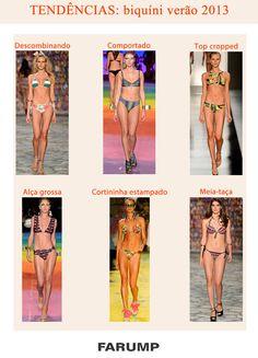 Confira seis tendências de moda praia desfiladas no Fashion Rio para você já ir se prepararando para o verão 2013!