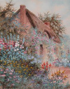 Joseph Halford Ross 1866-1909: Flower Garden