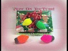 Rainbow Loom Christmas Lights - Loomigurumi / Amigurumi рождественские огни Лумигуруми - YouTube