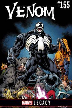 Venom Cover By Mark Bagley