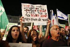 16/08/14 Tel Aviv for #Gaza #ICC4Israel #BDS