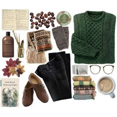 Drifting by lithe-fae on Polyvore featuring H&M, Pieces, Linda Farrow, Urban Rituelle, philosophy, Moleskine and vintage