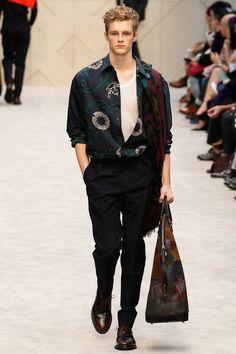 Burberry Prorsum | Fall 2014 Menswear Collection |  Look 24