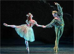 "ABT, David Hallberg and Gillian Murphy in ""The Dream"" (Photo: Andrea Mohin)"