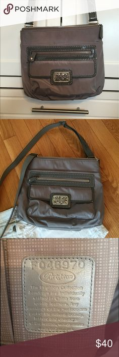 Brighton Cross Body Authentic Charlie Pocket Bag, like new condition, adjustable cross body strap, roomy, neutral color.  No stains or holes. Brighton Bags Crossbody Bags